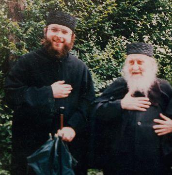 Архимандрит Софроний (Сахаров) и иеромонах Николай (Сахаров)