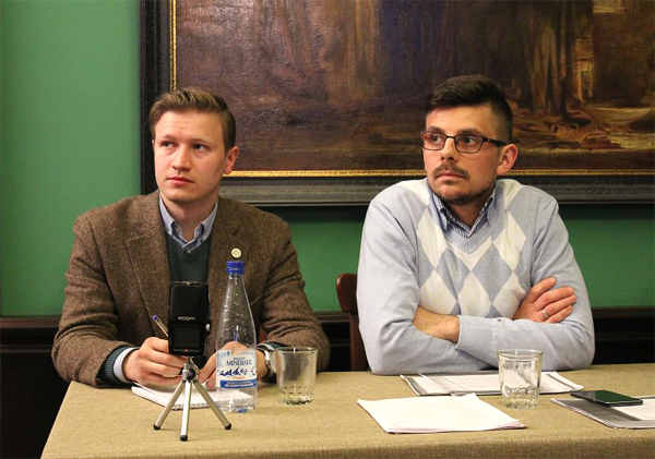 Константин Тарасов (слева) и Николай Родин