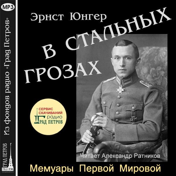 В СТАЛЬНЫХ ГРОЗАХ. Эрнст Юнгер