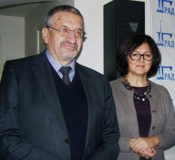 Борис Сергеевич Братусь и Наталья Владимировна Инина